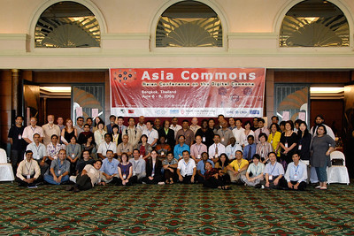 Group shot of all the participants at Asia Commons, Bangkok.