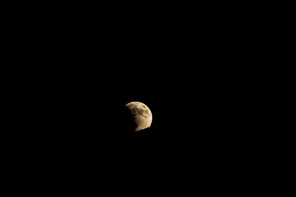 Blood Moon over Alamogordo