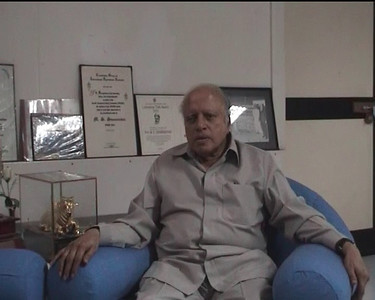 "Interview of Prof. M. S. Swaminathan by Prof. Arunachalam in MSSRF, Chennai when working on the two books ""Reaching the Unreached"" and ""Transformative Impact of ICT"" on 9th September, 2009. Location: M S Swaminathan Research Institute (Chennai), Tamil Nadu, India. [Part 4 of 4]"