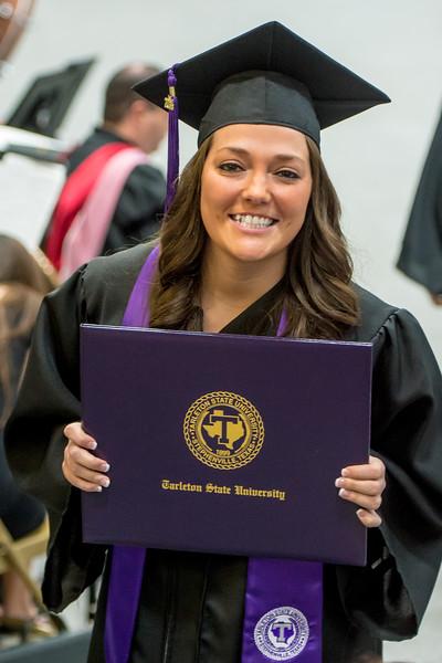 Christie Dossey TSU Graduation