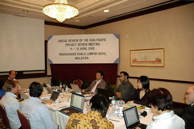 Digital Review of the Asia Pacific Project Review Meeting 11 - 12 April 2005. Renaissance Kuala Lumpur Hotel, KL, MalaysiEditorial Board Meeting. Digital Review of the Asia Pacific Project Review Meeting 11 - 12 April 2005. Renaissance Kuala Lumpur Hotel, KL, Malaysia.a.