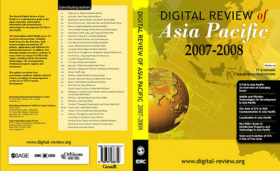 "The ""Digital Review of Asia Pacific 2007-2008"" publication was launch at GK3, Kuala Lumpur, Malaysia on 12th Dec, 2007.    The completely updated edition of the Digital Review of Asia Pacific contains authoritative reports on how 31 economies are using ICT in business, government and civil society written by senior authors who live and work in the region. Included are two subregional chapters on ASEAN and APEC. It also includes thematic chapters. Full text of the publication will be made available shortly. More details  http://www.digital-review.org/"