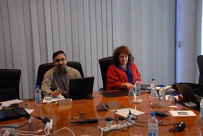 Rajesh Sreenavasan and Milagros Rivera