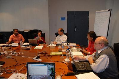 Ed Board in discussion