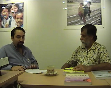 Interview of Shahid Akhtar, IDRC, Singapore. Part 1 of 2. Approx 7 min.