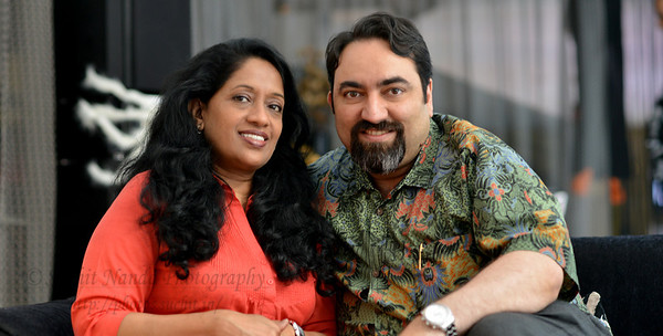 Anu & Suchit in Hong Kong, 2012.