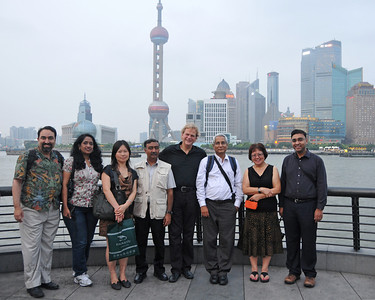 Group photo of eDirAP meeting as the Bund in Shanghai, China.