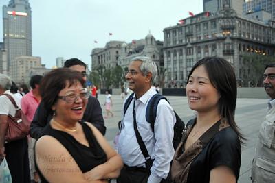 At the Bund, Shanghai, China.