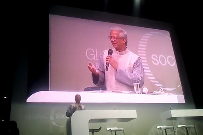 Closing address by Nobel Peace Prize Laureate Prof. Muhammad Yunus, at the Global Social Business Summit 2010, held in Autostadt, Wolfsburg,  http://www.gsbs2010.com/