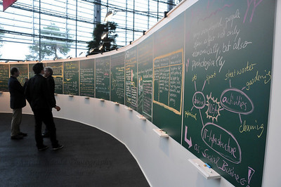 Ideas Room at the Global Social Business Summit 2010, Autostadt, Wolfsburg, Germany 4-5 November 2010 by Grameen Creative Labs.