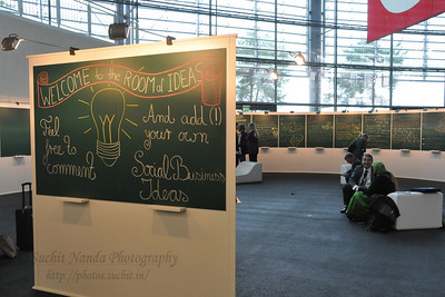 Room of Ideas Global Social Business Summit 2010, Autostadt, Wolfsburg, Germany 4-5 November 2010 by Grameen Creative Labs.