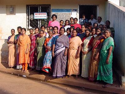 Women at Kalapet