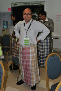 Everyone gets to try the Malay-Indian dress with amusing results. :) IDRC's PAN ALL 2009 CONFERENCE, Penang, Malaysia. 12-14 June, 2009. Canadian International Development Research Centre organized 3rd PAN (PAN Asia Networking) All partners' conference held in Penang to bring together its research partners in the Asian region. More than 150 participants, including project and sub-project leads, representatives from PAN research networks, targeted global researchers in ICTD, key regional practitioners and researchers, evaluators, donors and relevant IDRC staff attended the conference held at Wawasan Open University (WOU). For more details see:  http://www.idrc.ca/pan/ev-136463-201-1-DO_TOPIC.html  and http://panall.crowdvine.com/