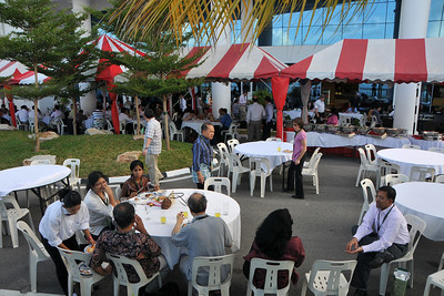 IDRC's PAN ALL 2009 CONFERENCE, Penang, Malaysia. 12-14 June, 2009. Canadian International Development Research Centre organized 3rd PAN (PAN Asia Networking) All partners' conference held in Penang to bring together its research partners in the Asian region. More than 150 participants, including project and sub-project leads, representatives from PAN research networks, targeted global researchers in ICTD, key regional practitioners and researchers, evaluators, donors and relevant IDRC staff attended the conference held at Wawasan Open University (WOU). For more details see:  http://www.idrc.ca/pan/ev-136463-201-1-DO_TOPIC.html  and http://panall.crowdvine.com/