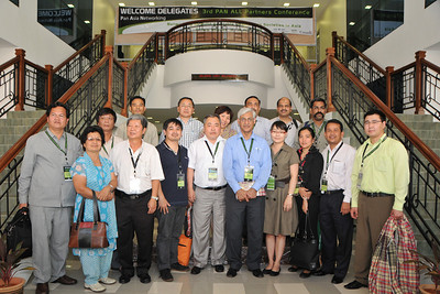 Group Shot of the PANDORA (Distance Learning initiative) participants to IDRC's PAN ALL 2009 CONFERENCE, Penang, Malaysia. 12-14 June, 2009 by Suchit Nanda.  IDRC's PAN ALL 2009 CONFERENCE, Penang, Malaysia. 12-14 June, 2009. Canadian International Development Research Centre organized 3rd PAN (PAN Asia Networking) All partners' conference held in Penang to bring together its research partners in the Asian region. More than 150 participants, including project and sub-project leads, representatives from PAN research networks, targeted global researchers in ICTD, key regional practitioners and researchers, evaluators, donors and relevant IDRC staff attended the conference held at Wawasan Open University (WOU). For more details see:  http://www.idrc.ca/pan/ev-136463-201-1-DO_TOPIC.html  and http://panall.crowdvine.com/