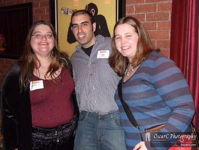 Arun Bhalla, his wife, and Caroline Bennett