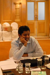 Mahesh (Shetty) Sir at MT Educare Stategic Planning Workshop at Taj Residency, Nashik on 4th Oct 2007.