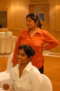 Smile you'll are on Candid Camera at MT Educare Stategic Planning Workshop at Taj Residency, Nashik on 4th Oct 2007.