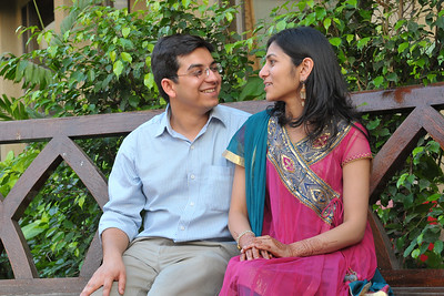 Pictures of Neel & Urvi. Pre-wedding pictures of Parthiv (Mehta) & Neha (Kapadia) at the J W Marriott, Juhu, Mumbai.