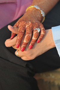 Pre-wedding pictures of Parthiv (Mehta) & Neha (Kapadia) at the J W Marriott, Juhu, Mumbai.