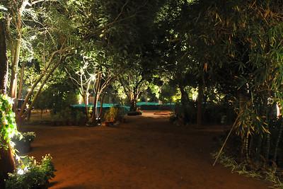 Prepartations at the Shantiniketan Farm of the Mehta family in Ahmedabad for the reception of Parthiv (s/o Roopal & Kushal Mehta) & Neha (d/o Heena & Shailesh Kapadia).