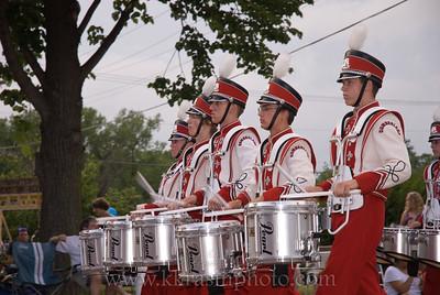 Cumberland High School's drum line