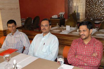Kushal Shah, Dr. Mayur Jarmawala, and Parvez Diwan.