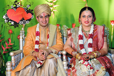 Wedding pictures of Parthiv (Mehta) & Neha (Kapadia) at the Sun-n-Sand Hotel, Juhu, Mumbai.