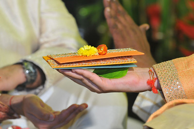 Wedding ceremony of Parthiv (Mehta) & Neha (Kapadia) at Sun'n'Sand Hotel at Juhu, Mumbai.