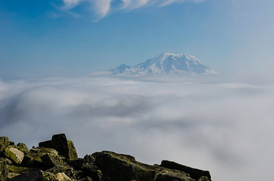View of Rainier