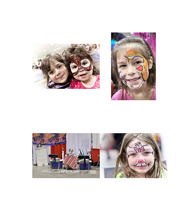 Face Painting Book 1 2012-3