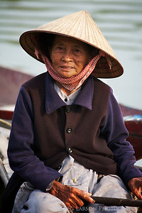 Elderly woman, Hoi An Vietnam.