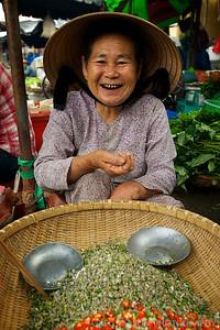 Market in Hoi An, Vietnam.
