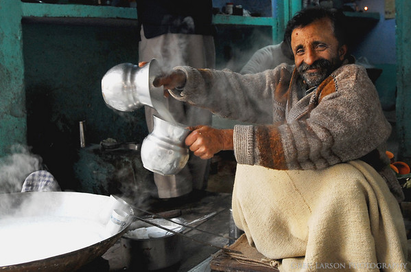 Milk Man, Haridwar, India