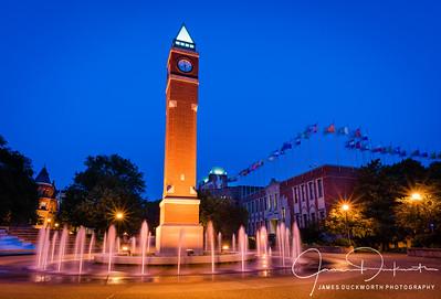 Saint Louis University Clock Tower