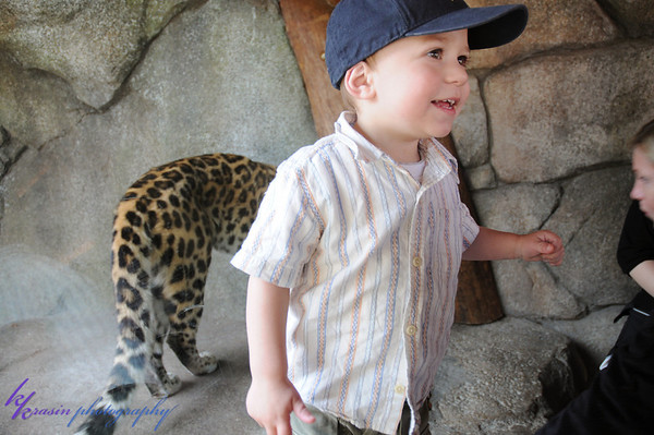 Kalyn loved the leopard