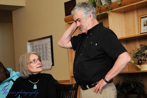My aunt Sandy & uncle Rod