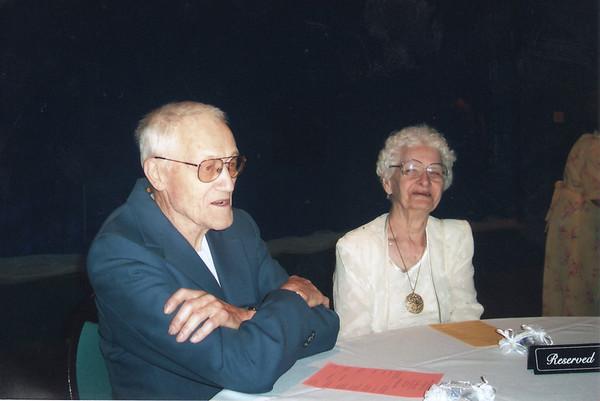 Grandma & Grandpa at our wedding
