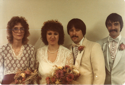 At my parents' wedding