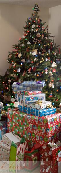 Christmas at Paul's parents'