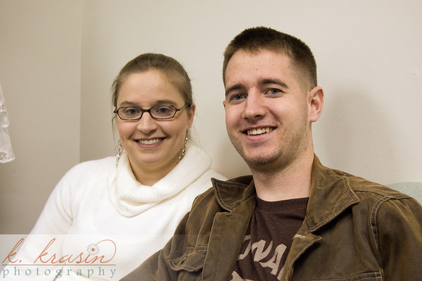 My brother Matt and his girlfriend at the time (now wife)