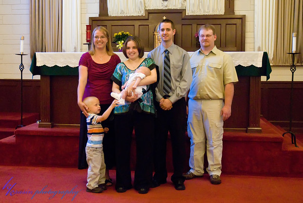 With the godparents