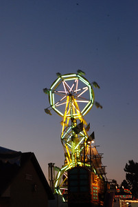 Double-Ferris Wheel @ Night