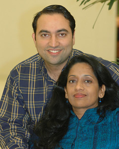 Suchit & Anu in Vancouver, Nov'2004