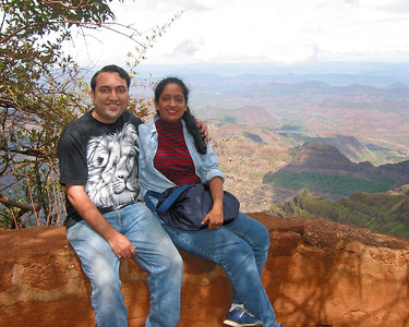 Suchit & Anu in Matheran, June 2003