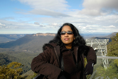 Anu near Blue Mountain, Australia July'2005