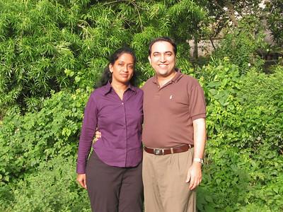 Anu & Suchit at IIT, Powai, Mumbai