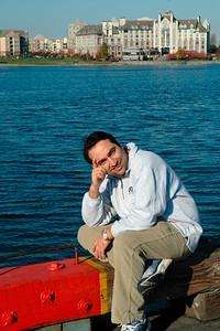 Suchit in Victoria, Canada. Nov'2004