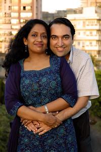 Anu & Suchit in Mumbai.