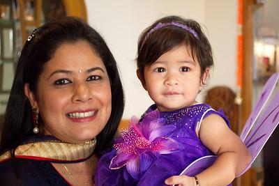 Anushka with her mother Priya at Anushka's Birthday Celebrations at Marol, Mumbai.